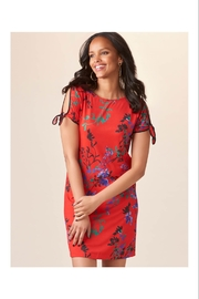 Giftcraft Inc.  Bright Red Floral Dress - Product Mini Image