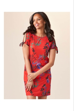 Giftcraft Inc.  Bright Red Floral Dress - Product List Image