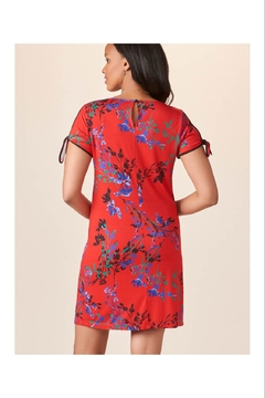 Giftcraft Inc.  Bright Red Floral Dress - Alternate List Image