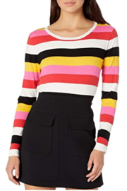 BB Dakota Bright Stripe Sweater - Product Mini Image