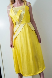 Dawn Sunflower Bright Yello Dress - Front cropped