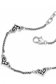 Brighton Alcazar Heart Anklet - Front cropped