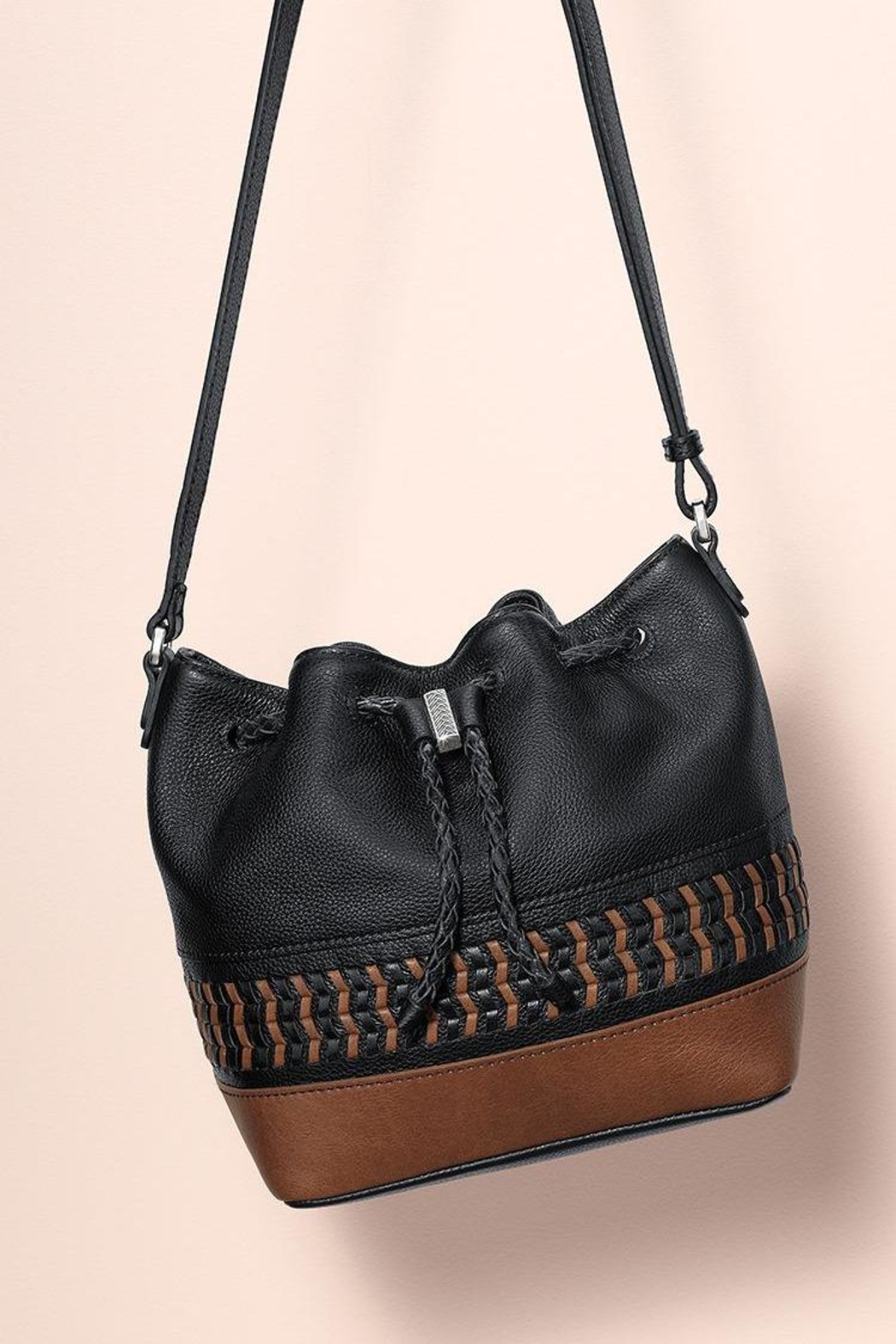Brighton Annan Crossbody Bucket - Front Full Image