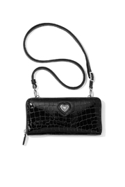 Brighton Bellissimo Heart Zip-Wallet - Front cropped