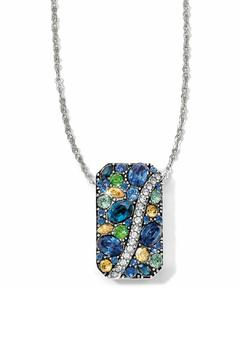 Brighton Blue Journey Necklace - Product List Image