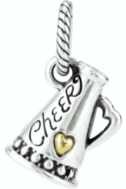 Brighton Cheer Charm - Front cropped