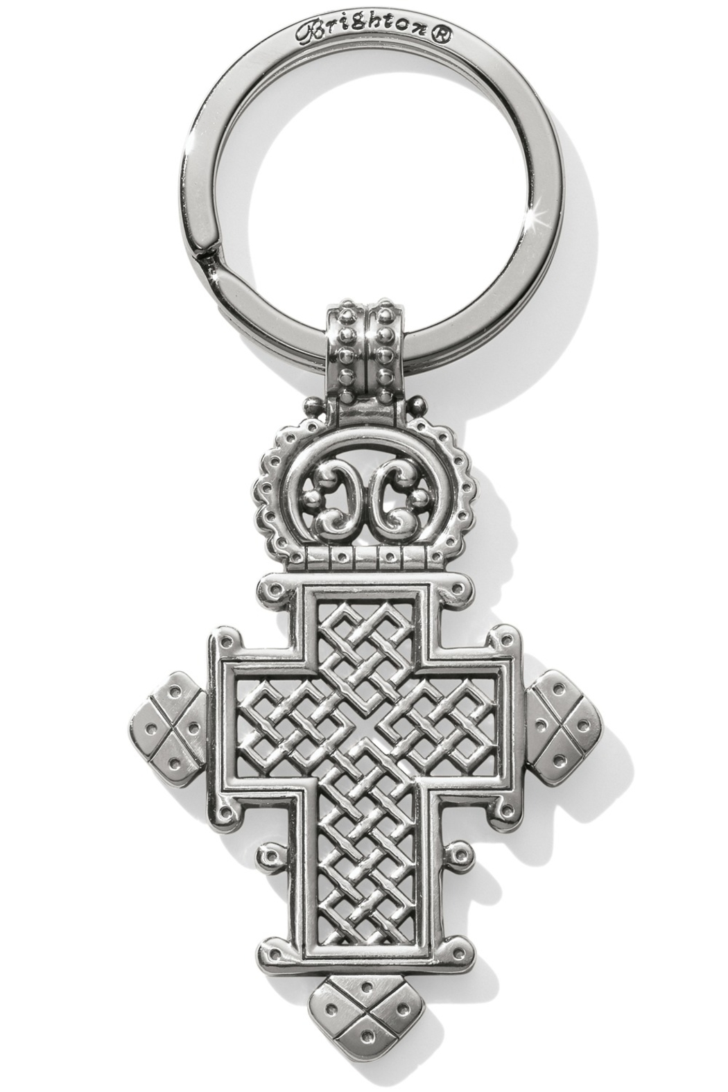 Brighton Ethiopian Cross Key Fob E17880 - Main Image
