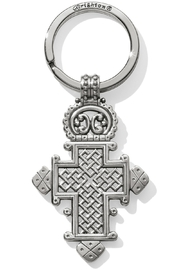 Brighton Ethiopian Cross Key Fob E17880 - Front cropped