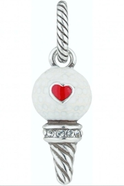 Brighton Golf Girl Charm - Front cropped