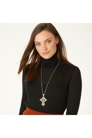 Brighton Greek Cross Necklace - Back cropped