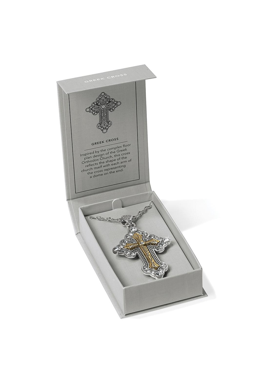 Brighton Greek Cross Necklace - Side Cropped Image