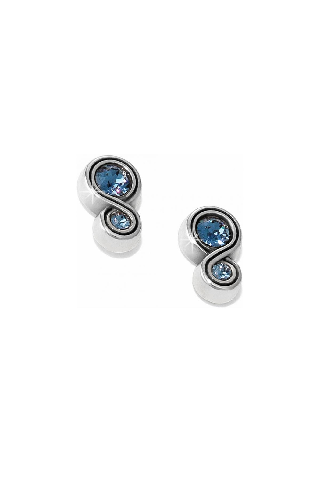 Brighton Infinity Sparkle Earrings - Front Cropped Image