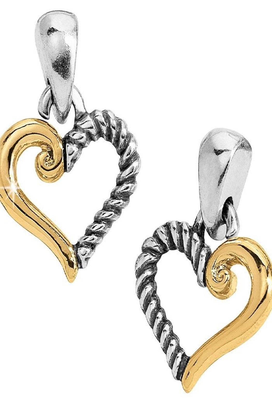 Brighton Kindred Heart Post Earrings - Main Image