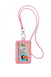 Brighton Leather Id Holder - Front full body