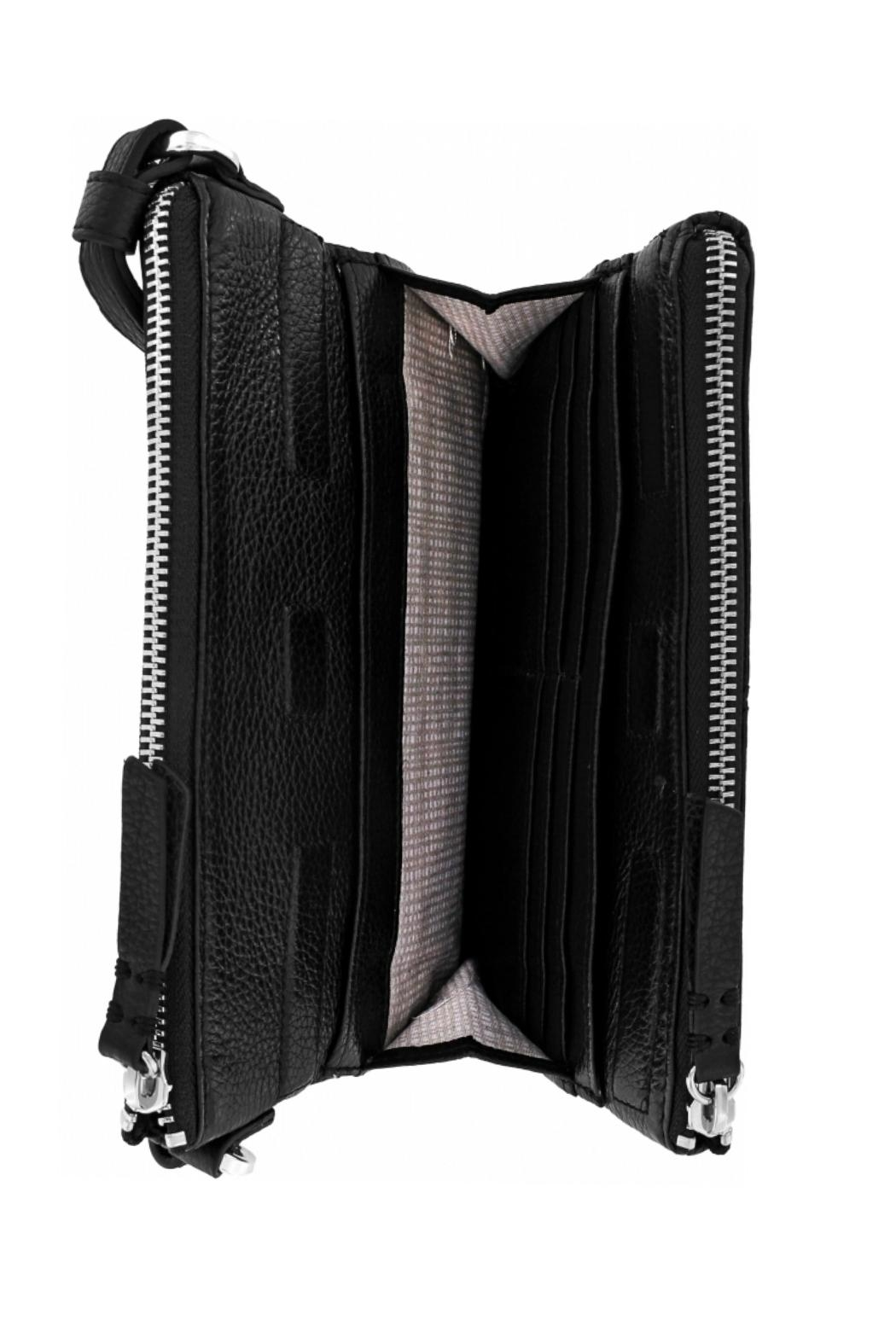 Brighton London-Groove Double-Zip Organizer - Front Full Image