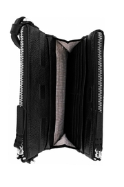 Brighton London-Groove Double-Zip Organizer - Front full body