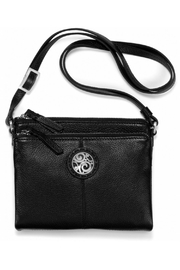 Brighton London-Groove Double-Zip Organizer - Front cropped