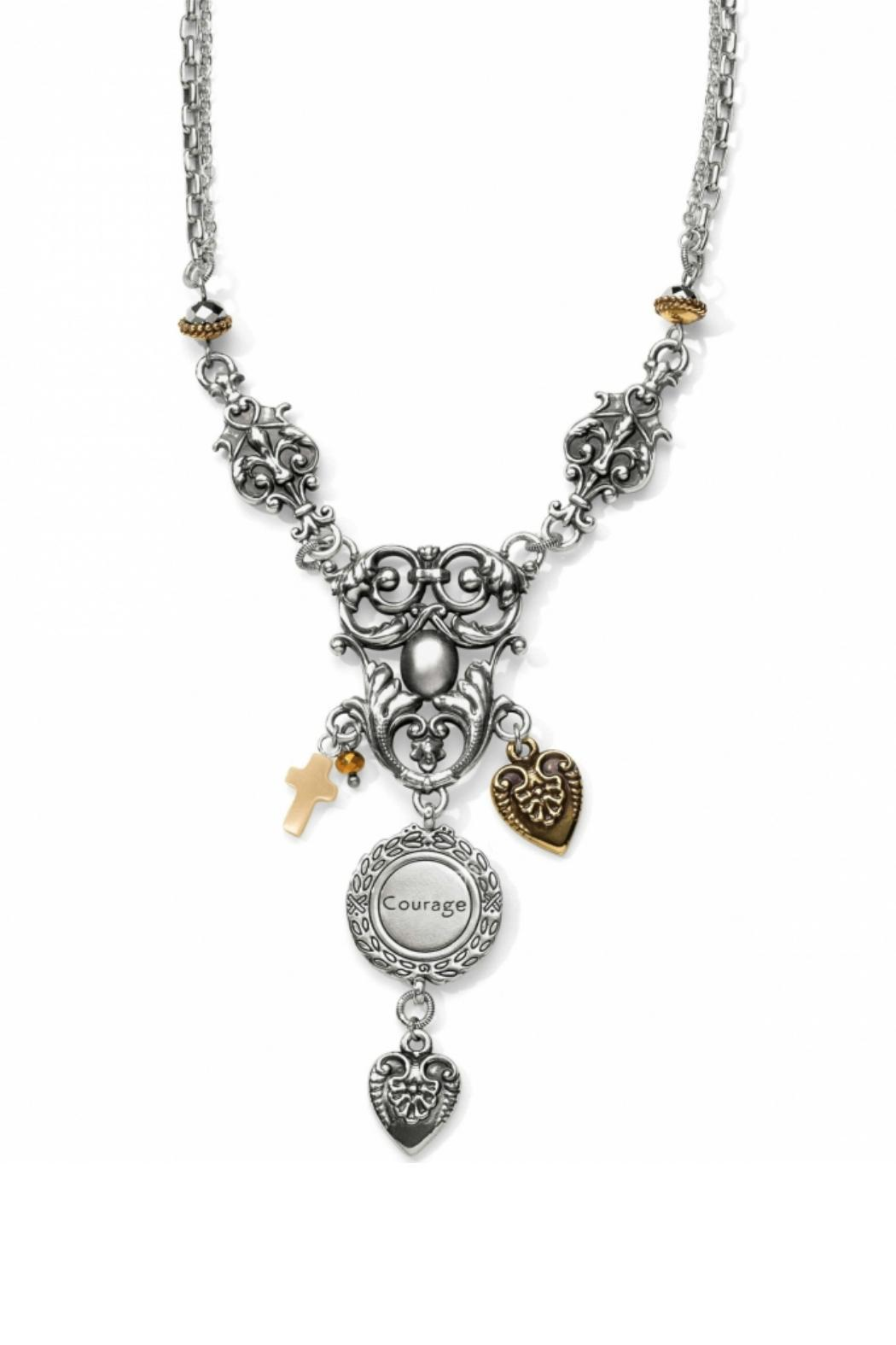 Brighton Long Cathedral Necklace - Front Full Image