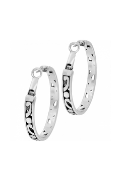 Brighton Medium Hoop Earrings - Alternate List Image
