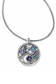 Brighton Multicolor Halo Necklace - Product Mini Image