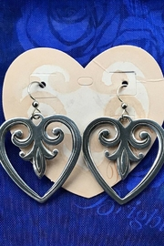 Brighton Palace Heart Earrings - Product Mini Image