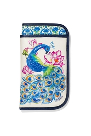 Brighton Peacock Double-Eyeglass Case - Product Mini Image