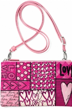Shoptiques Product: Power Of Pink Crossbody Pouch