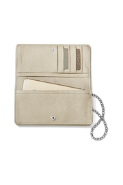 Brighton Rockmore Large Wallet - Front full body
