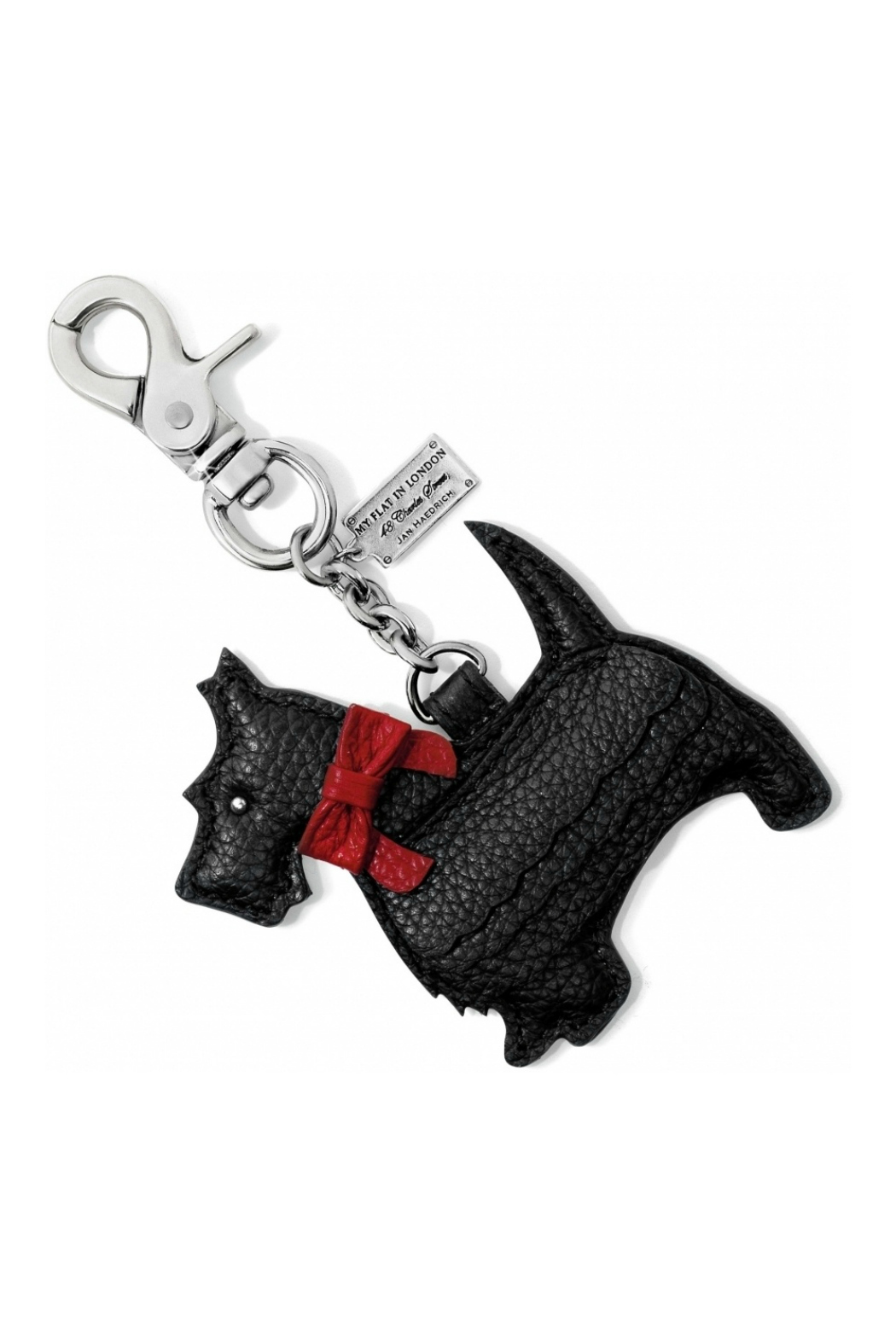 Brighton Scotty Luv Handbag Fob - Front Cropped Image