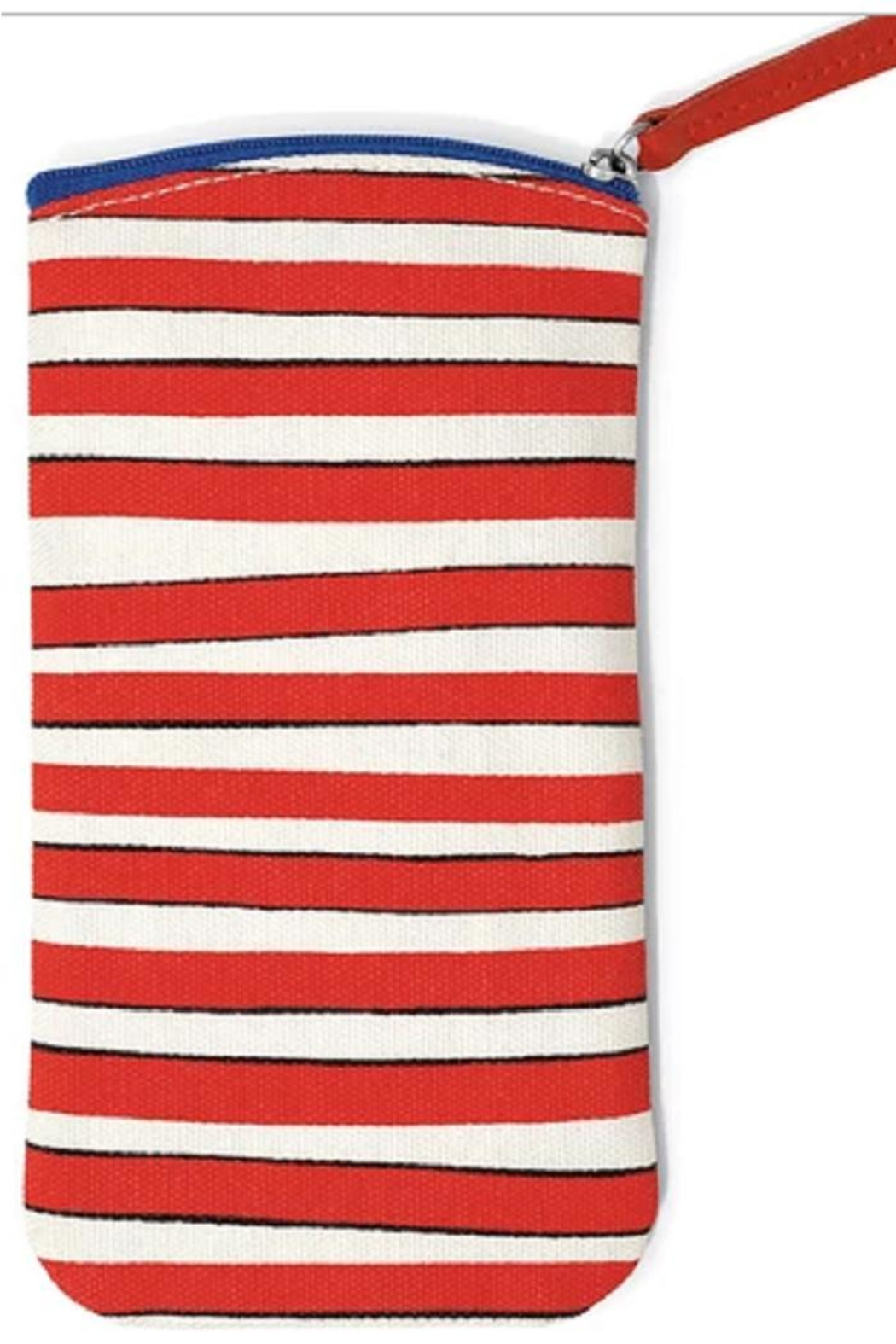 Brighton Striped Eyeglass Pouch - Front Full Image