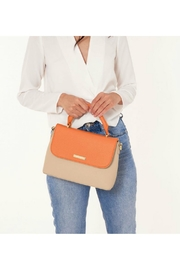 Brighton Two-Tone Messenger Bag - Back cropped