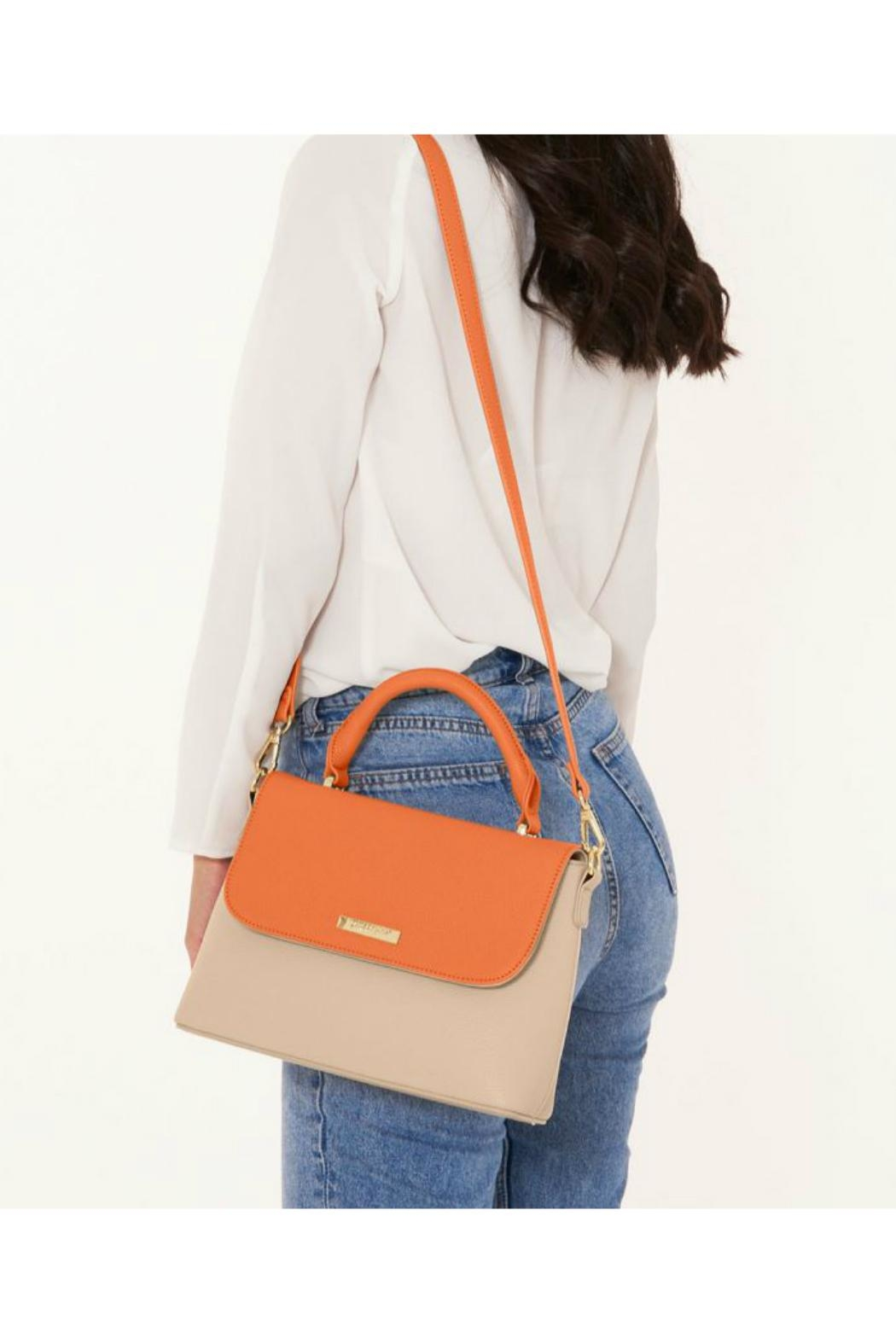 Brighton Two-Tone Messenger Bag - Side Cropped Image