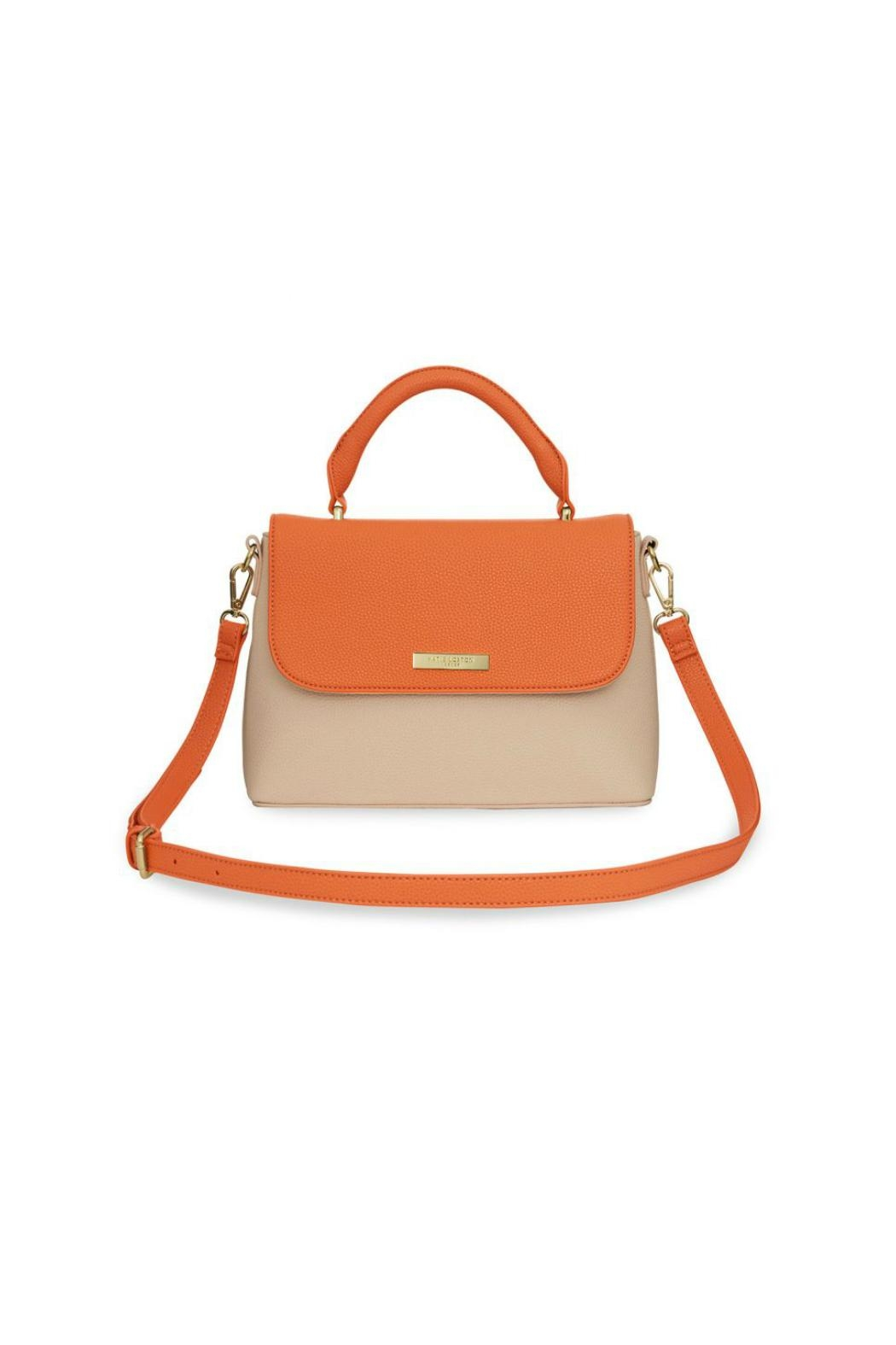 Brighton Two-Tone Messenger Bag - Front Cropped Image