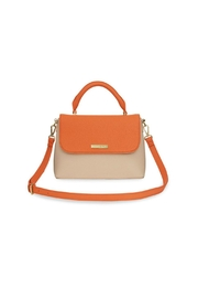 Brighton Two-Tone Messenger Bag - Front cropped