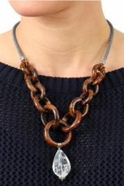 Brighton Wooden Links Necklace - Side cropped