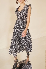 Ulla Johnson Brigitte Organza Dress - Front full body