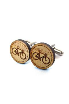 Shoptiques Product: Bike Cufflinks