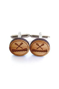 Shoptiques Product: Canoe Cufflinks