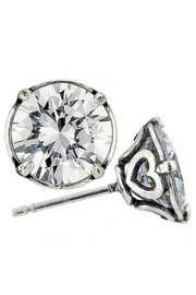 Brighton Brilliance 9mm Post-Earrings - Front cropped