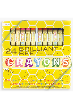 Ooly Brilliant Bee Crayons - Product List Image