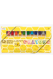 Ooly Brilliant Bee Crayons Set of 12 - Product Mini Image