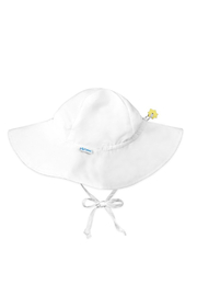 Green Sprouts Brim Sun Protection Hat - White - Product Mini Image