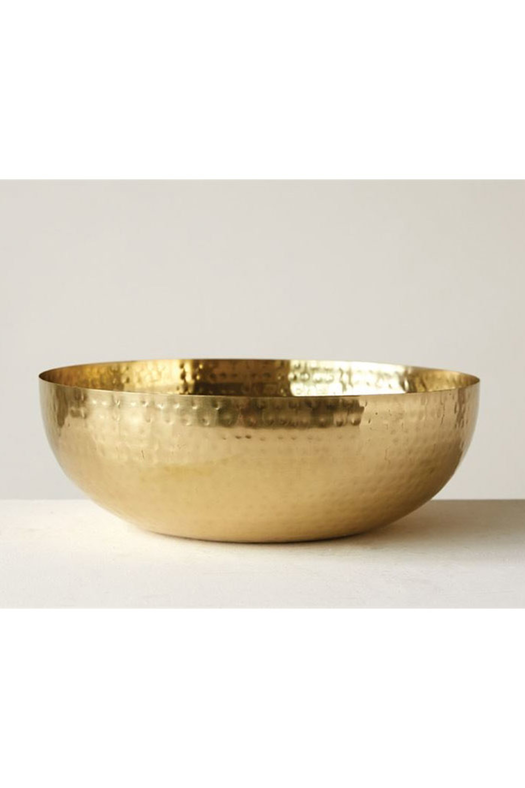 Creative Co-Op Brimming In Gold Bowl - Main Image