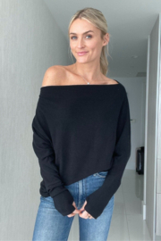 Six Fifty Brit Off The Shoulder Top - Product Mini Image