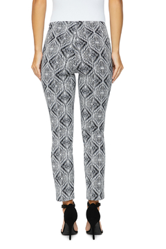 Lysse Britt Ikat Print Ankle Pants - Alternate List Image