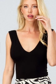 Trend:notes Perry Deep V Neck Bodysuit - Product Mini Image