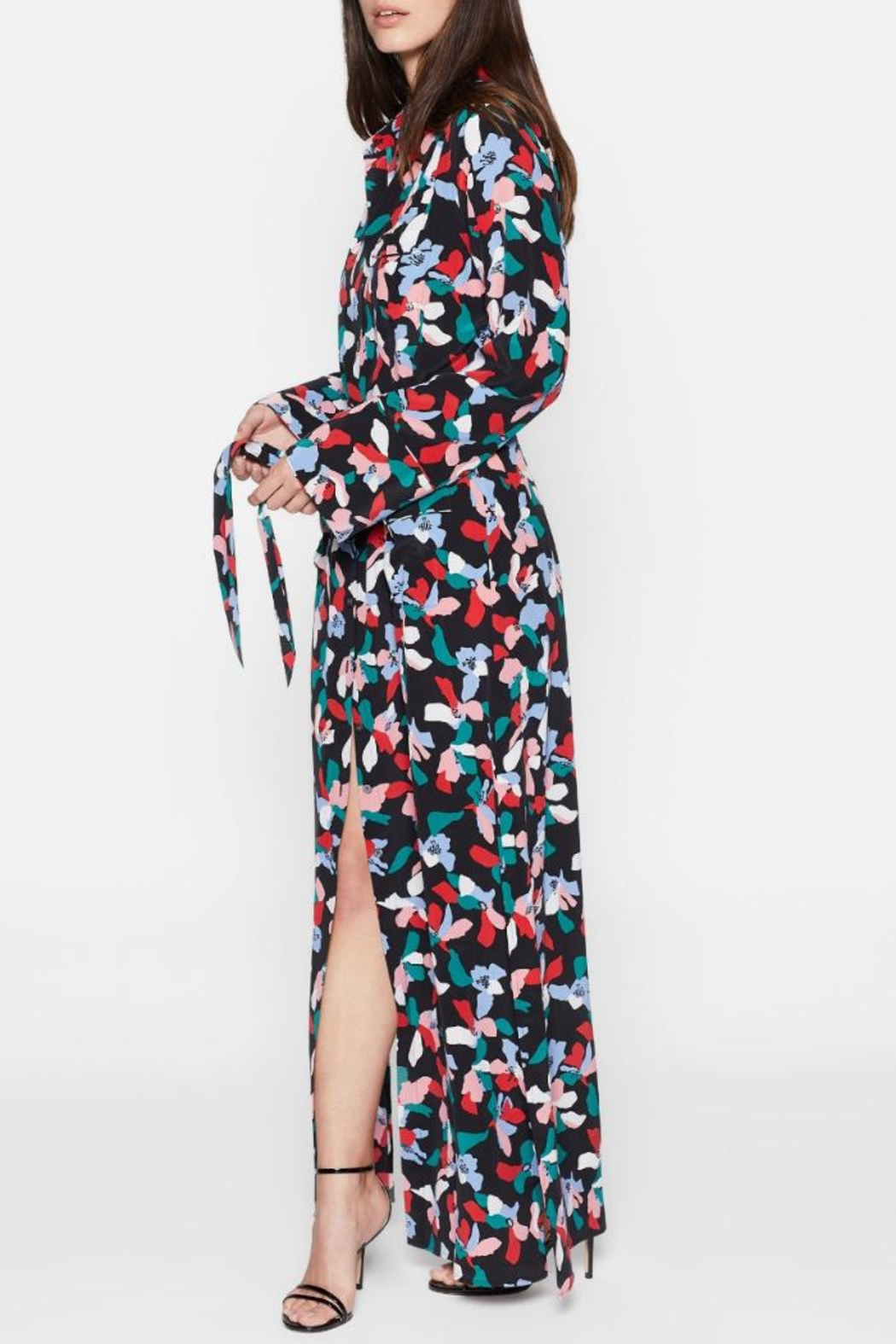 Equipment Britten Maxi Dress - Side Cropped Image
