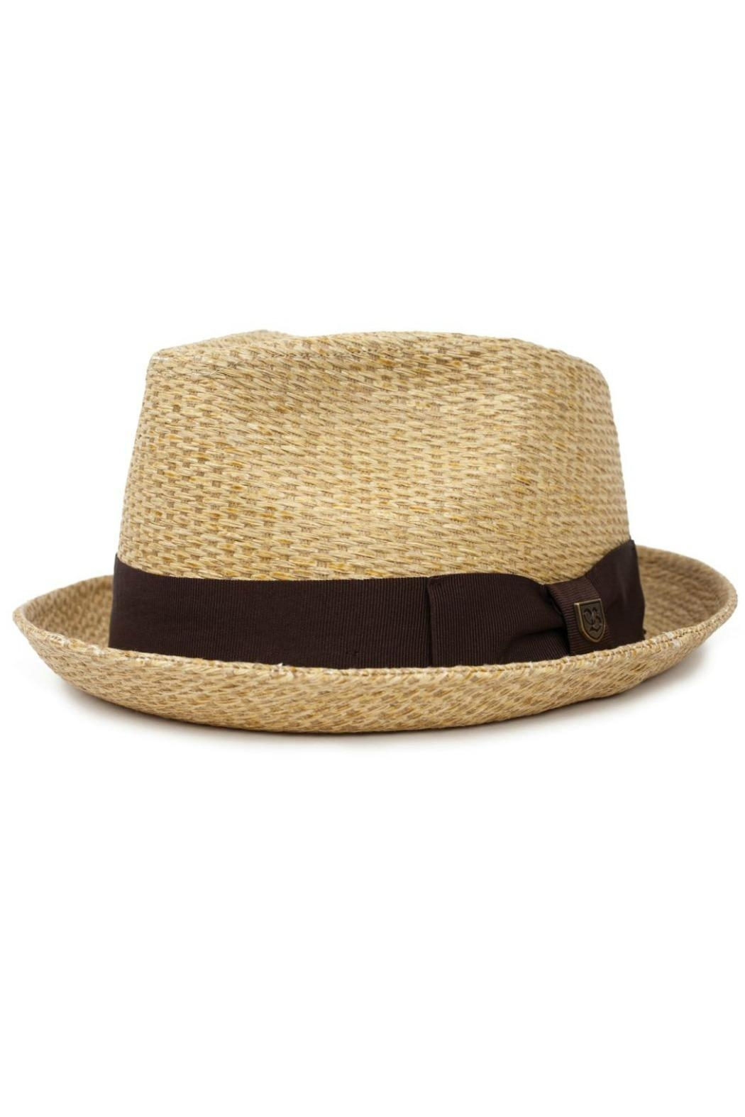 Brixton Castor Fedora Tan - Front Cropped Image