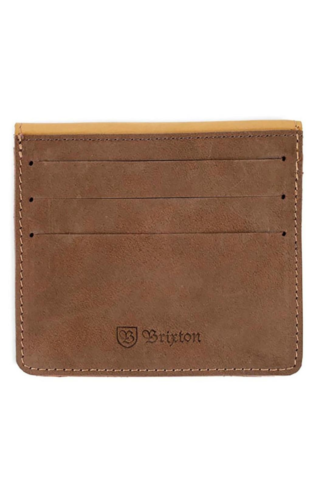 Brixton The Clinton Wallet - Front Full Image