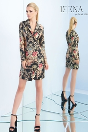 Mac Duggal Brocade Blazer Dress - Product Mini Image